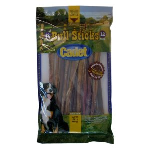 cadet gourmet bull sticks dog treats 12 inch 12 count 00880 pooch supply where. Black Bedroom Furniture Sets. Home Design Ideas