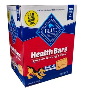 Blue Buffalo Health Bars Crunchy Dog Treats Bacon Egg & Cheese 5
