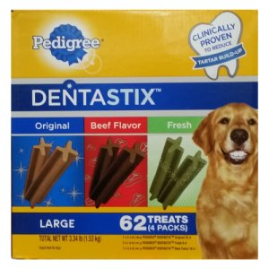 Pedigree Dentastix Variety Pack 62 Count