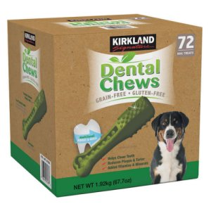 Dental Chews Kirkland Signature 72 Ct
