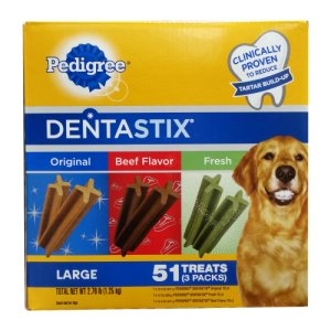 Pedigree Dentastix Variety Pack 51 Count