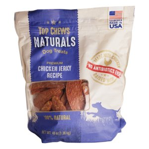 Top Chews Naturals Chicken Jerky Dog Treats 3 Lb Bag